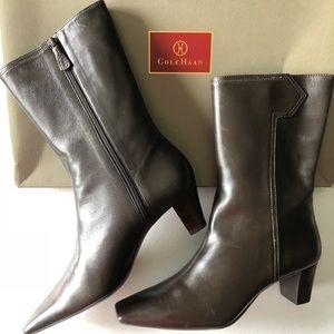 Women's Cole Haan Juli Mid-Calf Zipper Boots
